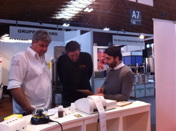 I sistemi di analisi CDR BeerLab, CDR BeerLab Touch e CDR Beerlab Junior, in mostra allo stand